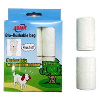 Bio-Flushable Dog Waste Bag